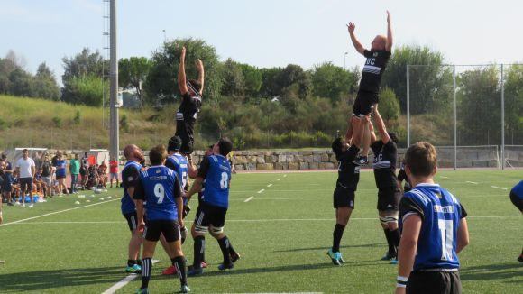 El Rugby Sant Cugat vol seguir amb la dinàmica ascendent davant la Santboiana B