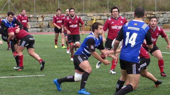El Rugby Sant Cugat perd davant un CAU València més efectiu i baixa fins a la setena posició