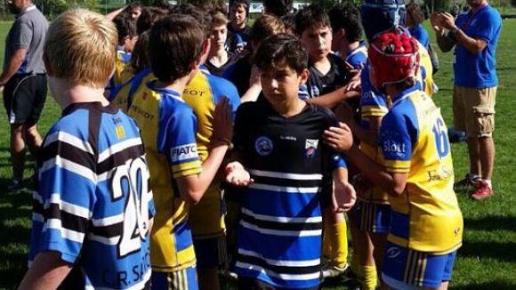Prop de 600 jugadors disputen aquest cap de setmana el 2n torneig del Rugby Sant Cugat