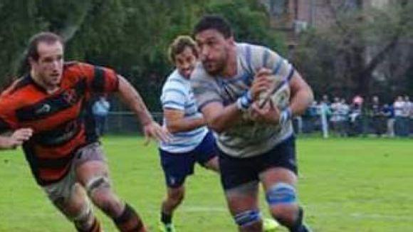 Tomas Gruden es converteix en el primer fitxatge del Rugby Sant Cugat