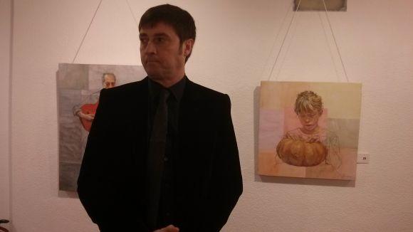 Ruizperez reflexiona sobre l'art amb una exposició a la Sala Rusiñol