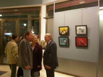 Una exposició conjunta de Ruiz Grima i Tharrats inaugura la temporada a l'espai Lluís Ribas