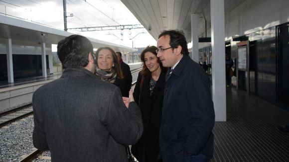 Rull responsabilitza Adif del poc ús de l'estació de Renfe de Sant Cugat