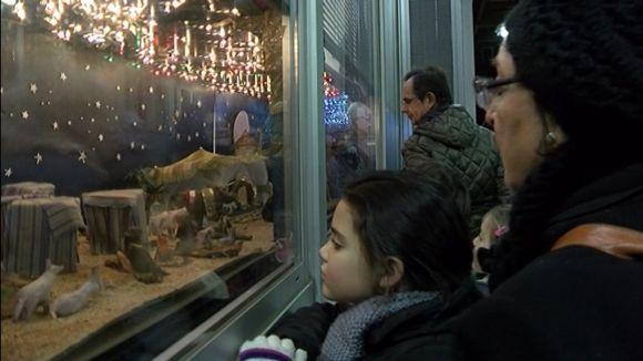 Els pessebres a la finestra és una de les tradicionals més arrelades la ciutat