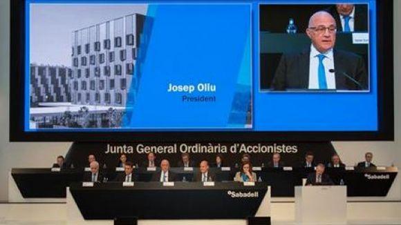 Banc Sabadell reparteix un dividend de set cèntims per acció