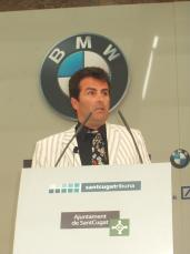 El professor de la Universitat de Columbia ha protagonitzat la segona conferència del fòrum Santcugatribuna del 2005