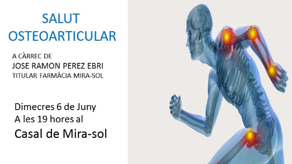 ANUL·LADA! Xerrada: 'Salut osteoarticular'