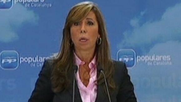 El PP local veu en Sánchez-Camacho la millor candidata