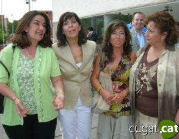 Alícia Sánchez-Camacho avala la tasca de Berta Rodríguez al capdavant del PP local