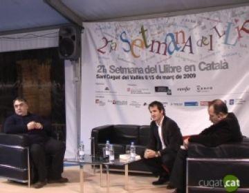 Vicent Sanchis i Joan Daniel Beszonoff dialoguen sobre la parla i l'escriptura del català