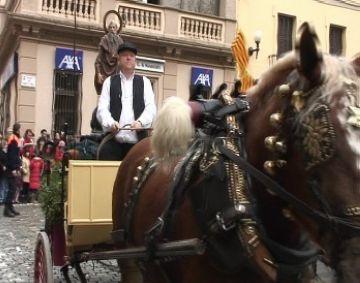 Milers de santcugatencs mantenen viu el passat rural de Sant Cugat amb la celebració de Sant Antoni Abat