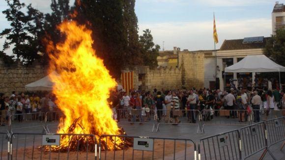 La Flama del Canigó torna a Sant Cugat