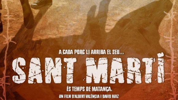 Fragment del cartell del film '´Sant Martí', que obre avui la secció oficial del festival
