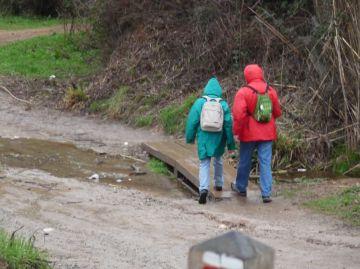 Comencen els treballs de manteniment de la franja de protecció i adequació del camí de Sant Medir