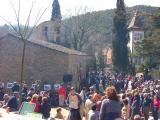 El Museu Sant Cugat participa en la rehabilitació del paviment de l'ermita de Sant Medir