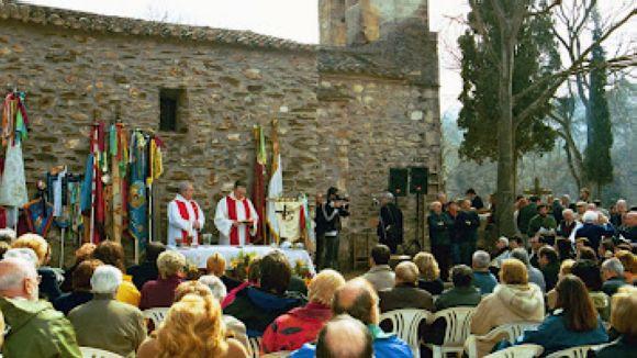Saps d'on procedeix el nom de l'ermita de Sant Medir?