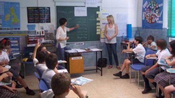 Imatge de l'escola Santa Isabel, ubicada a la Rambla Ribatallada