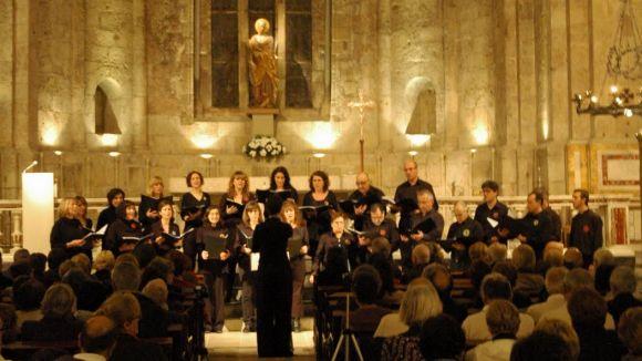El Monestir acull un concert de cant coral per celebrar Santa Cecília
