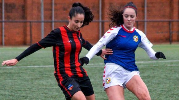 Les vermell-i-negres acaben la lliga amb 42 punts / Foto: Manel Expósito - Futfem.cat