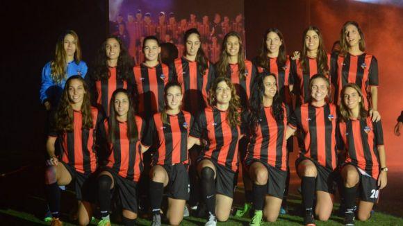 L'equip femení del Sant Cugat FC va empatar amb el Sant Pere Pescador a la primera volta