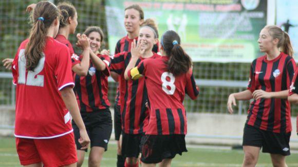 El SantCu femení suma el quart triomf consecutiu al camp del Base Olèrdola