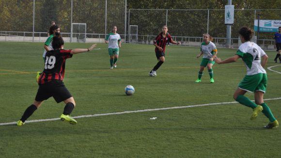 El Sant Cugat Esport femení guanya a casa davant l'Òdena i segueix invicte