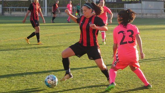 Ari Forment és la màxima golejadora de l'equip