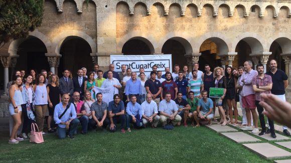 Foto de cloenda de la temporada de l'associació SantCugatCreix