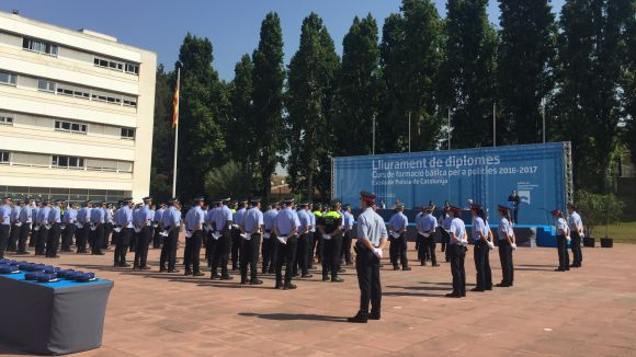 Sant Cugat incorpora quatre agents a la Policia Local