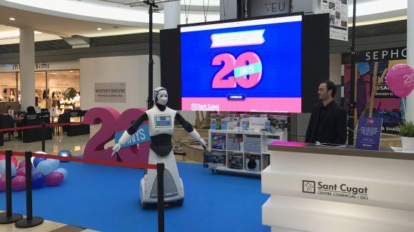 Els robots han estat un dels elements centrals de la celebració del 20è aniversari del centre / Foto: Sant Cugat Centre Comercial