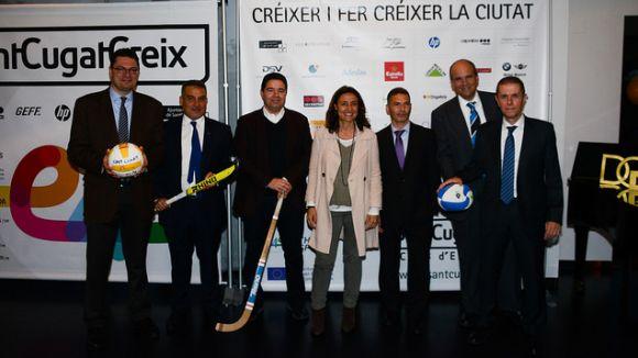 El món esportiu i empresarial sumen esforços en el Club d'Empreses SantCugatCreix