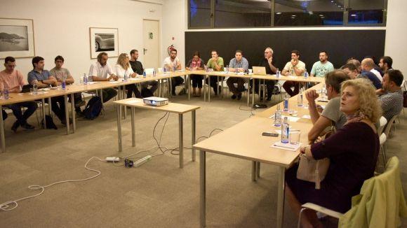 Presentació d'Icreix als integrants de la Carta Ètica / Font: SantCugatCreix