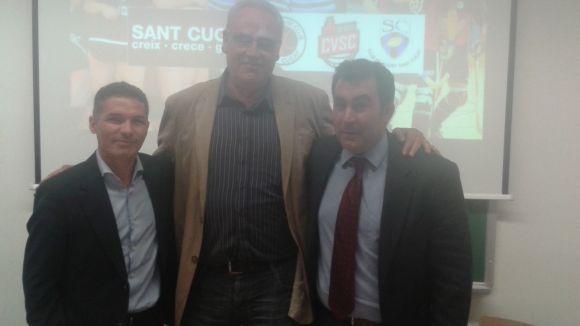 Presentació de la nova associació esportiva Sant Cugat Creix