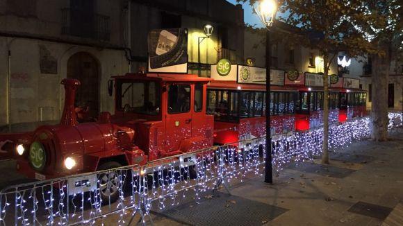 El trenet de Sant Cugat Comerç duplica els viatgers respecte al Nadal anterior