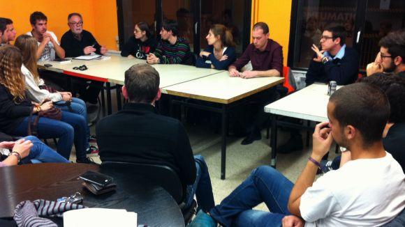 La CUP reclama al ple una plataforma d'expressió per als joves
