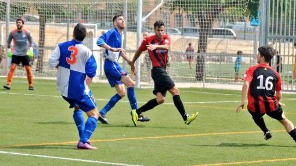 El Sant Cugat Esport guanya contra l'Olivella amb un inici de segon temps espectacular