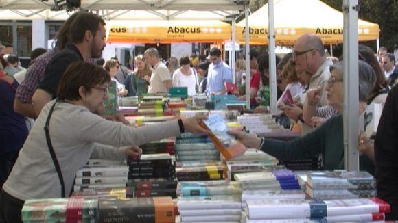 El ritme de vendes del matí ha despertat l'optimisme dels llibreters