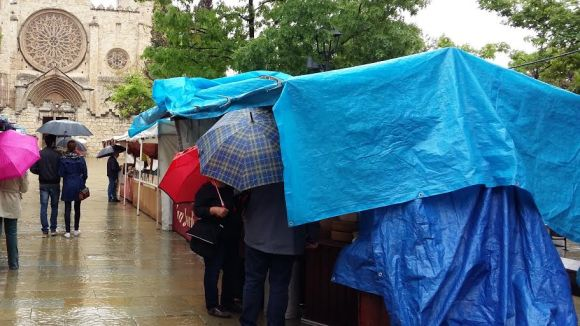 La Fira d'Alimentació de Sant Ponç planta cara a la pluja