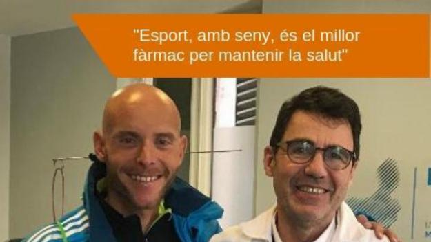 La Sant Silvestre organitza un clínic amb Jaume Leiva i el doctor Brotons al Museu