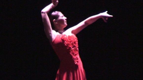 Sara Baras encisa el Teatre-Auditori amb la seva passió per tot allò que fa