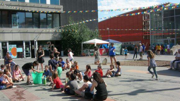 Activitats de l'Esplai Sarau durant la celebració dels 20 anys de l'entitat