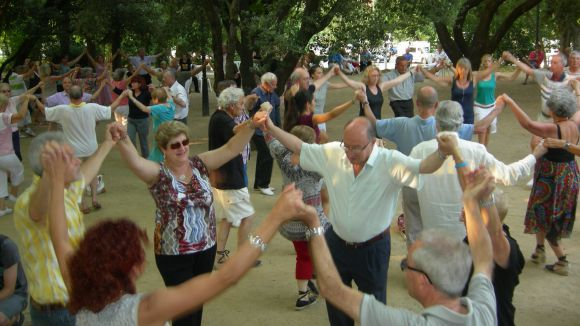 Nova ballada de sardanes a Sant Cugat