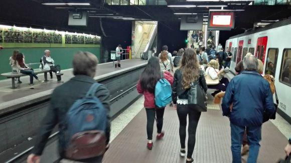 Els Ferrocarrils no circulen entre Plaça Catalunya i Baixador de Vallvidrera fins demà