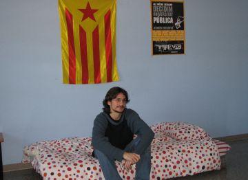 Un estudiant de la UAB comença una vaga de fam contra el Pla Bolonya