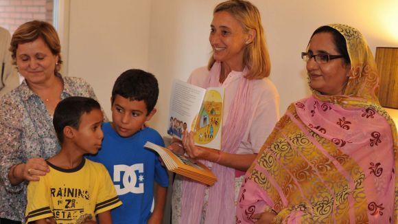 Sant Cugat es bolca amb els nens sahrauís