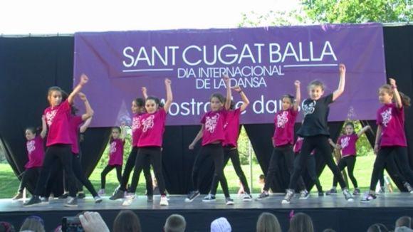 La dansa reivindica el seu valor artístic amb la mostra Sant Cugat Balla
