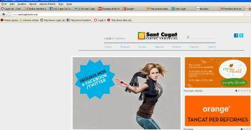 El Sant Cugat Centre Comercial aposta per la xarxa i estrena pàgina web