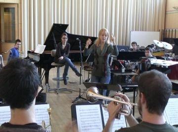 Maria Schneider i la 'big band' de l'Esmuc interpretaran al Teatre-Auditori un recopilatori de la pianista