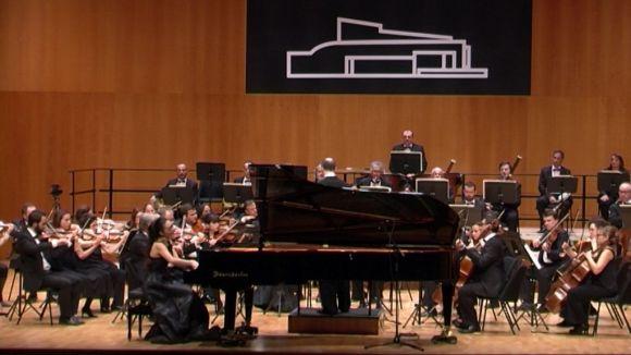 L'OSSC fa vibrar el Teatre-Auditori amb un concert de contrastos i primeres espases internacionals