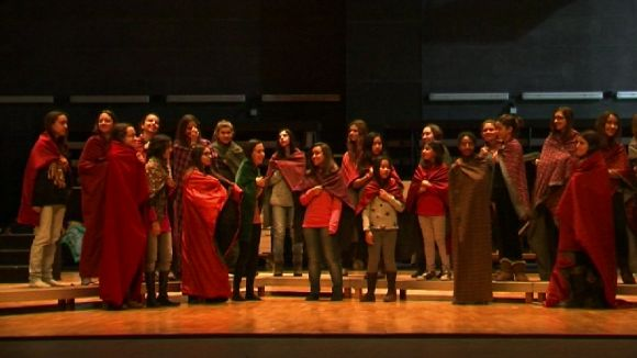 220 joves s'endinsen al món del musical amb el Cor Infantil Sant Cugat